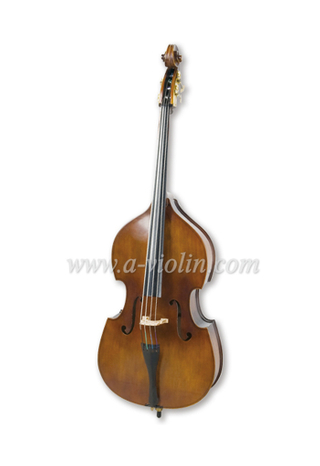 Gamba Shape Back Laminated Hardwood Student Double Bass (GDB101)